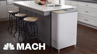 New Food Recylcer Hopes To Curb Food Waste | Mach | NBC News