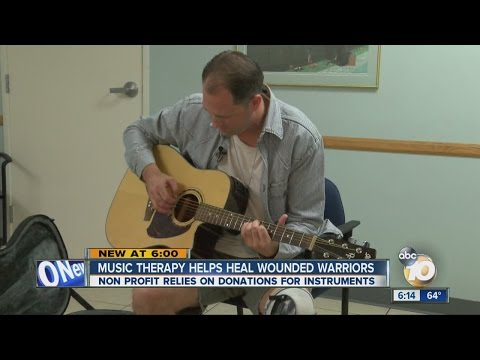 Music therapy helping Wounded Warriors