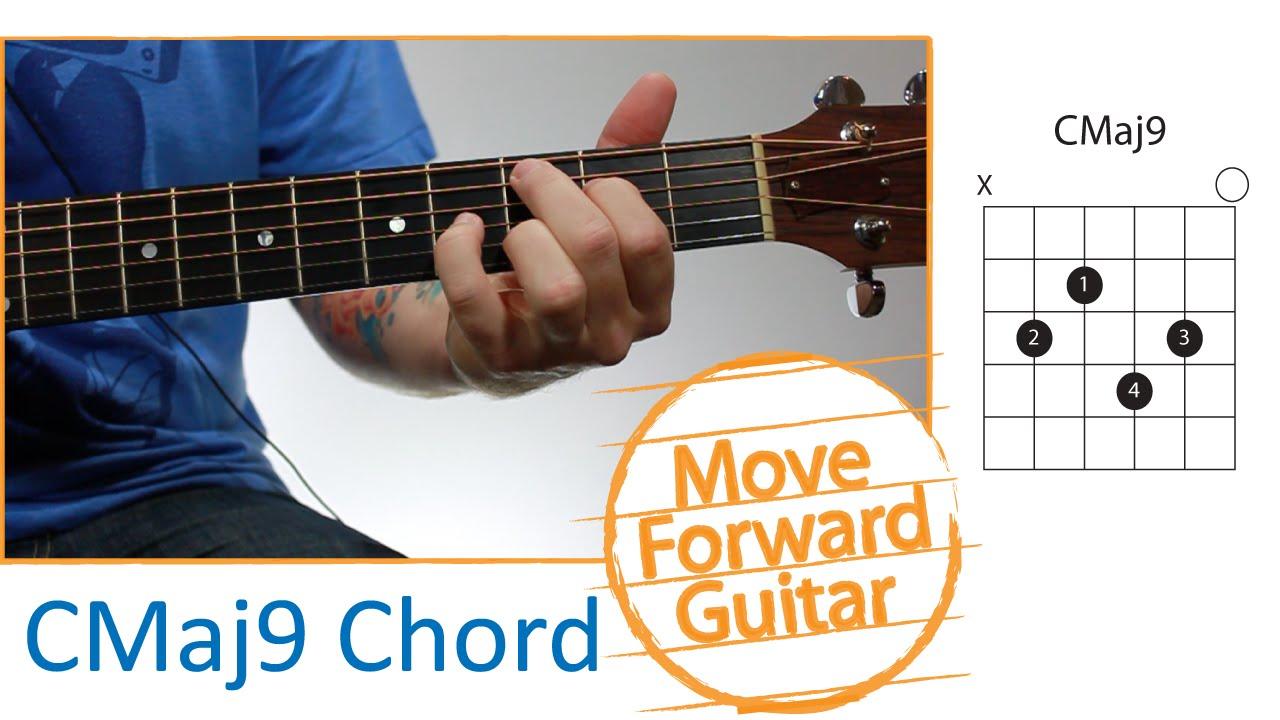 Guitar Chords For Beginners Cmaj9 Youtube