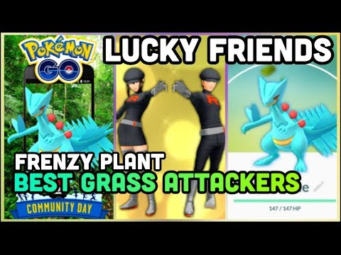 NEW LUCKY FRIENDS FOR 100% LUCKY CHANCE IN POKEMON GO | FRENZY PLANT SCEPTILE COMMUNITY DAY thumbnail