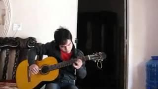 thằng hề khóc guitar