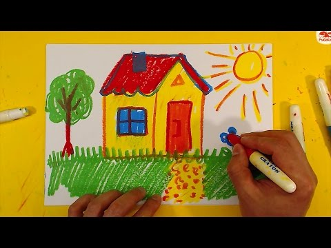 Как рисовать полянку