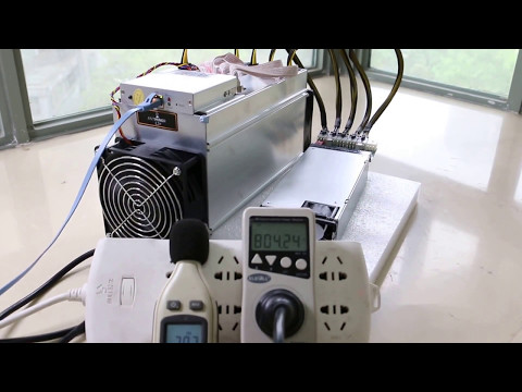 Antminer L3+ Litecoin Miner Performance Test