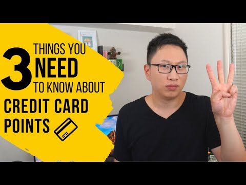 3 Things You NEED to Know About Credit Card Points