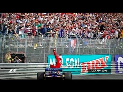 Jean Alesi's First And Only F1 Win   1995 Canadian Grand Prix