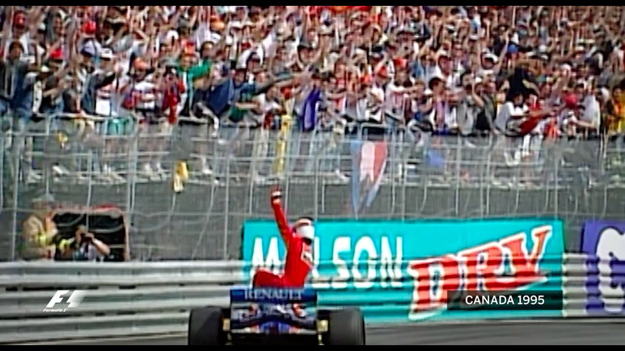 Jean Alesi's First And Only F1 Win | 1995 Canadian Grand Prix ...
