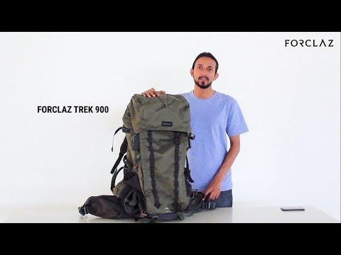 ba83cf0aa76 FORCLAZ TREK 900 BACKPACK REVIEW - YouTube