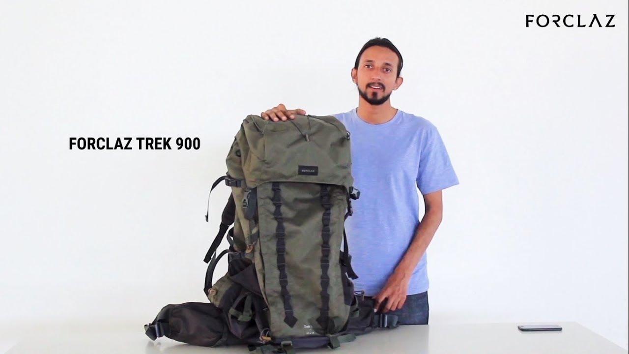 5bd53481e62 FORCLAZ TREK 900 BACKPACK REVIEW - YouTube