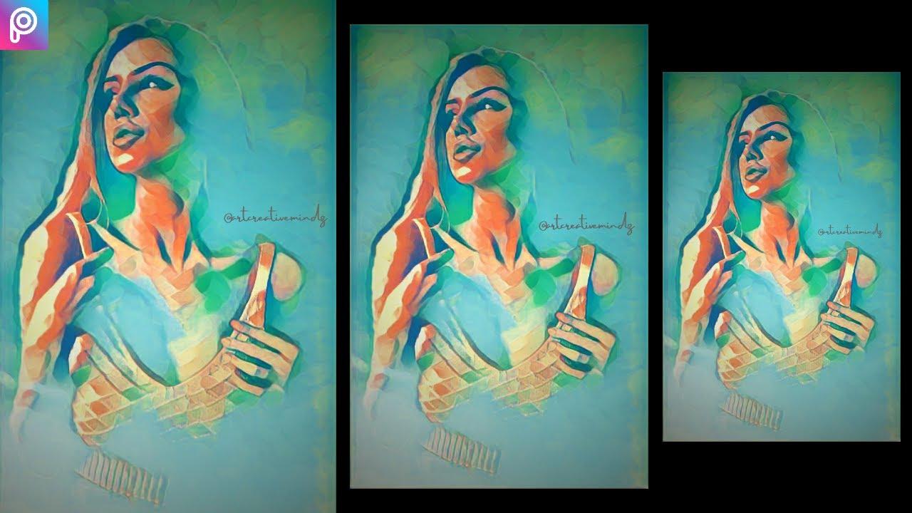 PicsArt painting splash Editing || Painting Editing PicsArt | Oldstyle painting Editing | Picsart