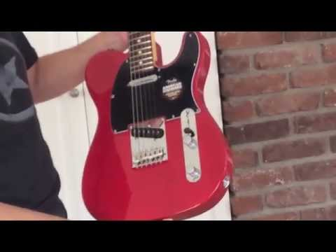 Unboxing Fender American Telecaster Crimson Red