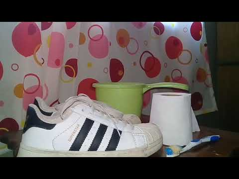 How to clean Adidas Superstar(PAOLO TOMENES INSPIRED)