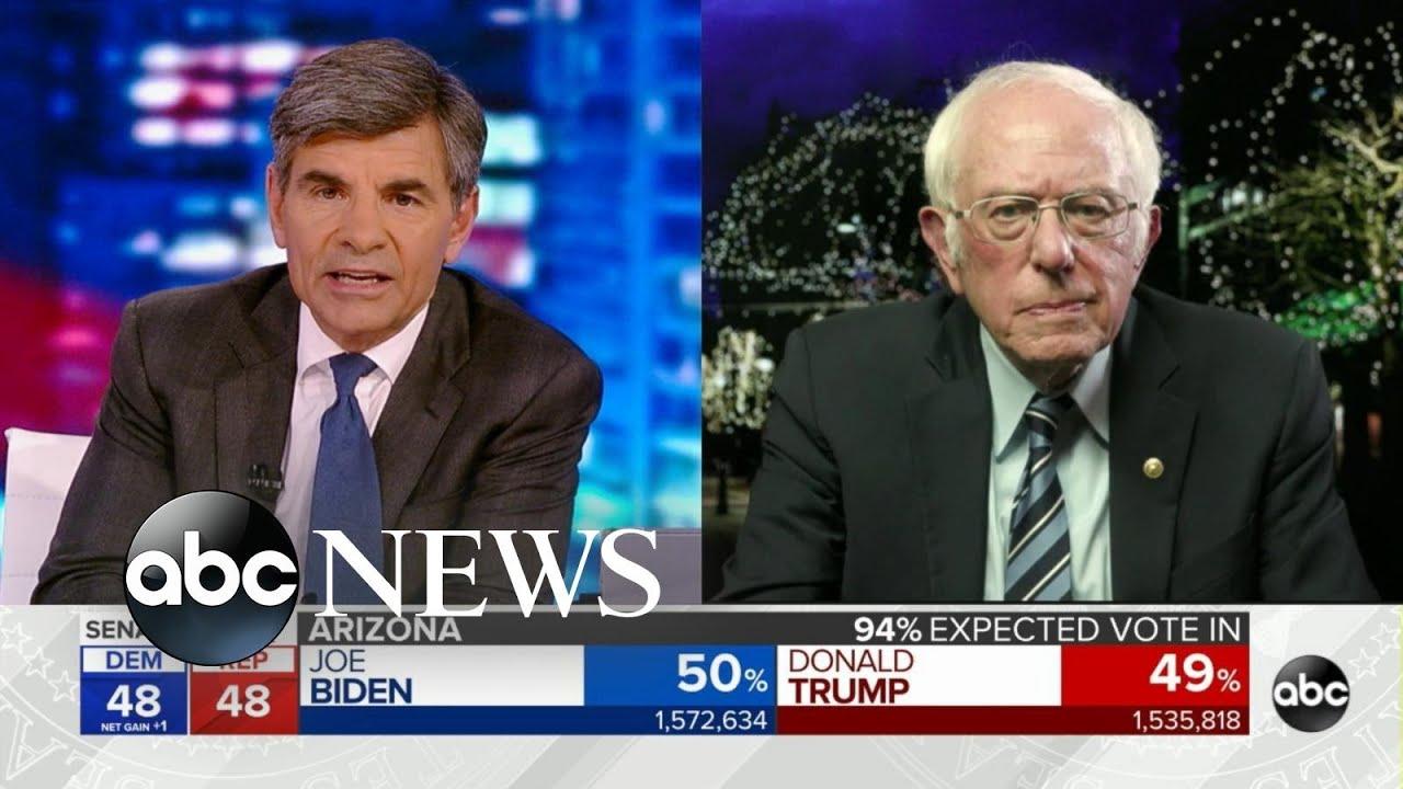 Bernie Sanders Responds to Biden Win, Calls for a 'Nation Built on ...