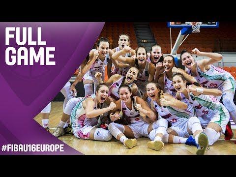 Hungary v Latvia - Full Game - Semi-Final - FIBA U16 Women's European Championship 2017
