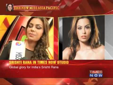 Times Group Meet the newly crowned Miss Asia Pacific Supertalent 2013