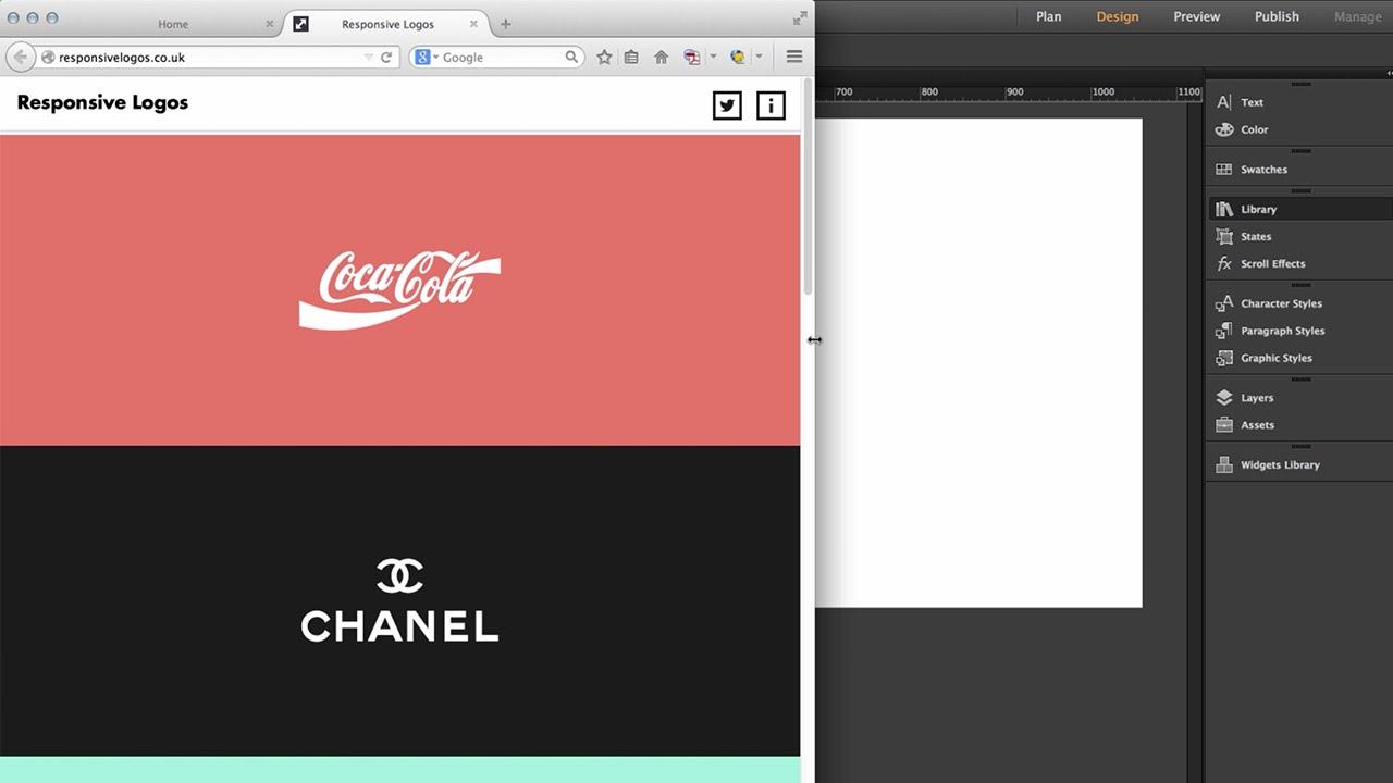 Creating Responsive Logos in Adobe Muse - FREE Widget - MuseThemes com