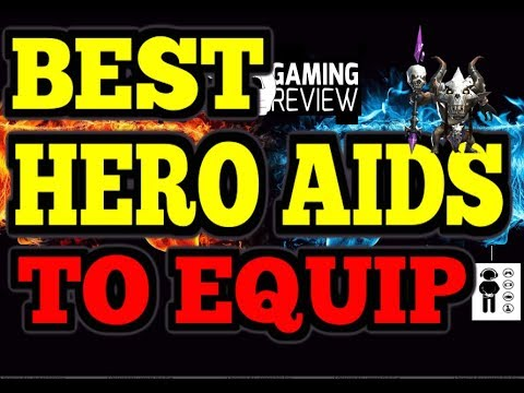 Clash Of Lords 2 - Best Hero Aid To Equip On Toxic Shaman