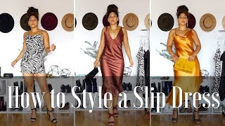 How to Style a Slip Dress | My Slip Dress Collection