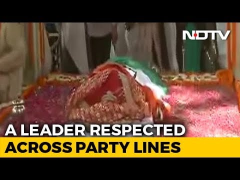 Sushma Swaraj Cremated With State Honours. PM, Top Leaders Present