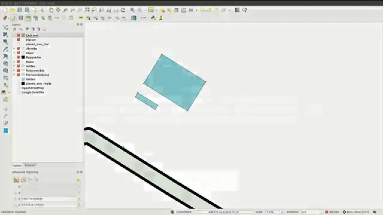 QGIS Quick Tip CAD tools