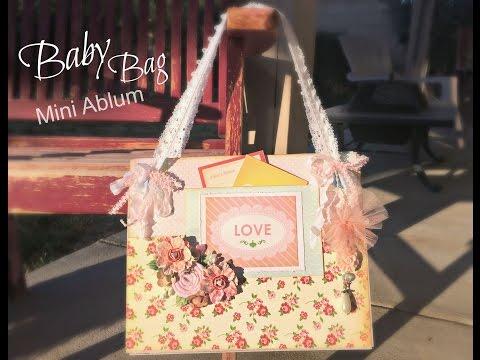 Adorable Baby Bag Mini Album
