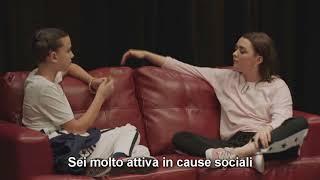 Maisie Williams Intervista Millie Bobby Brown | SUB ITA