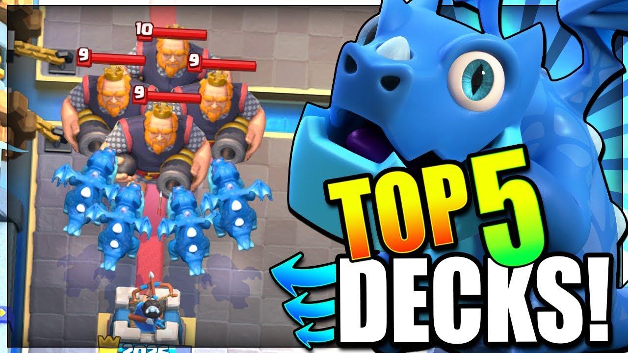 Destroy The Meta Top 5 Best Electro Dragon Decks Right Now