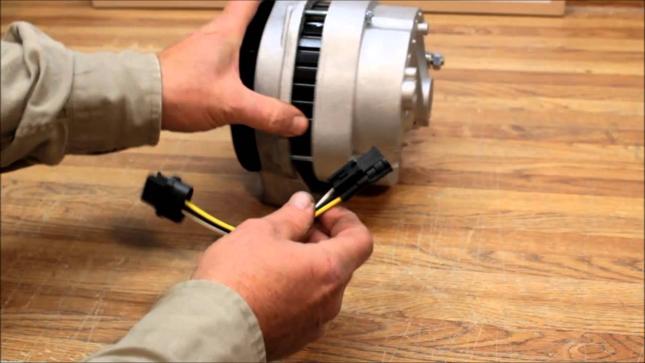 hight resolution of 4runner 200 amp high output alternator swap with 3 pin oval plug youtube
