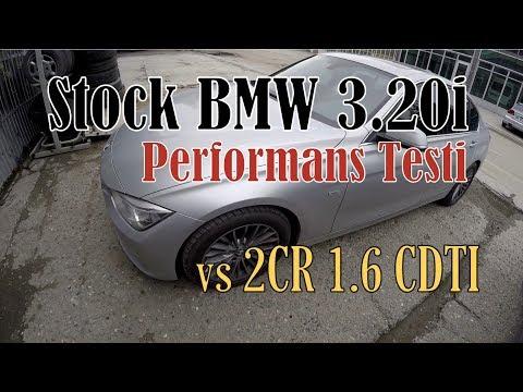 Stock BMW 3.20i Performans Testi - 2CR Astra K 1.6CDTI Süre Karşılaştırmalı