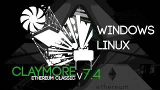 Claymore's Ethereum Classic AMD+NVIDIA GPU Miner v7.4 (Windows/Linux)
