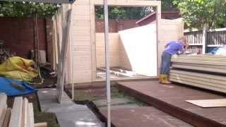 Dunster House Garden Office Project - Avon 6x3