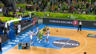 Highlights Greece-Slovenia EuroBasket 2013