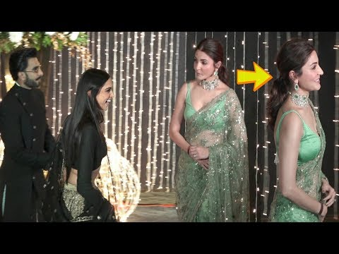 Anushka Sharma IGNORES Deepika Ranveer At Priyanka Nick Mumbai Reception