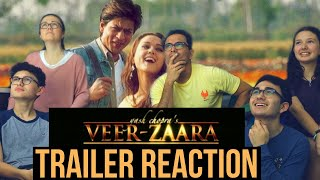 VEER - ZAARA Trailer REACTION || MaJeliv Reactions || an EPIC love story