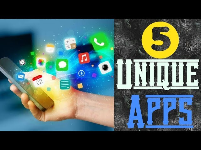 #TKB 5 Unique Apps For Android