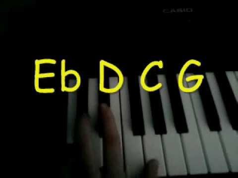 How To Play David Guetta Titanium On Piano Youtube