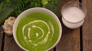 Supë e ftohtë jeshile, ideale për të rimarrë energjinë e humbur