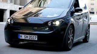 Sono Motors Sion – Solar Electric Car Test Drive Tour 2018 (Deutsch / German)