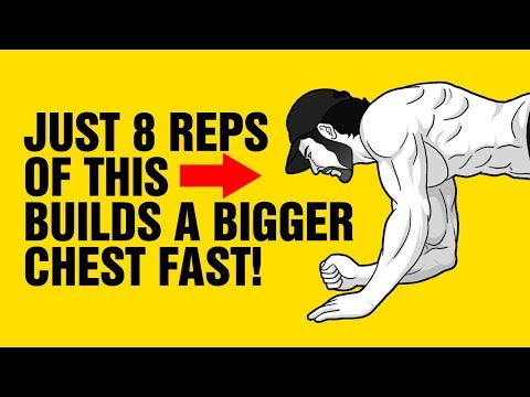 Just 8 Reps Of This Builds A Bigger Chest At Home - Extreme Push-Ups