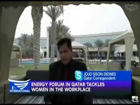 Qatar Energy Forum   Jojo Sison Diones