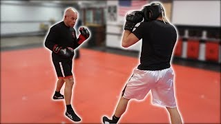BOXING MY DAD *FULL SPARRING FOOTAGE*