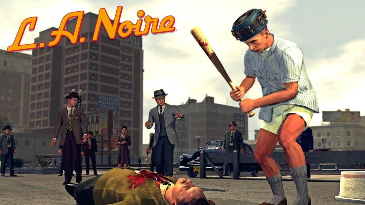 La Noire Remastered All Street Crimes Traffic Desk