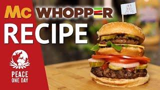 Mcwhopper Recipe  |  Hellthyjunkfood