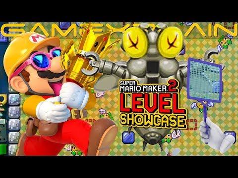 Super Mario Maker 2: 101 niveles (y sus códigos) para flipar con sus