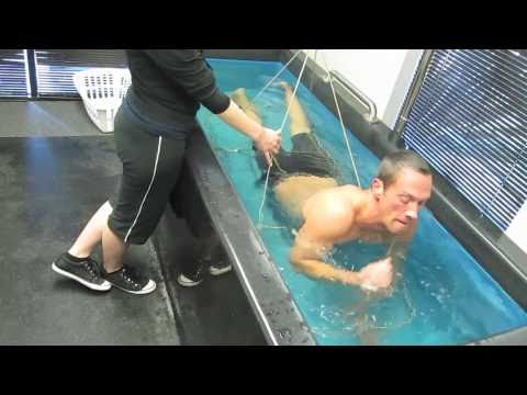 Hydrostatic weighing for body fat