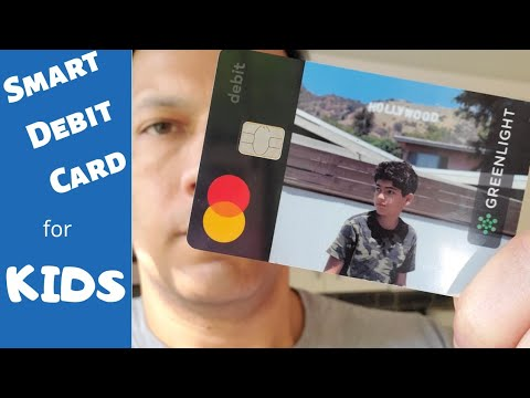 Family-Friendly Debit Card For Kids