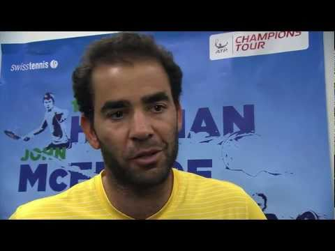 Champions like Pete Sampras about Roger Federer