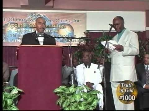 Pastor Gino Jennings Truth of God Broadcast 1000-1001 Philadelphia, PA