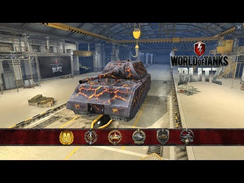 MAUS 6.8K DMG 5 Kills   World Of Tanks Blitz   Killer510_1 *4K*