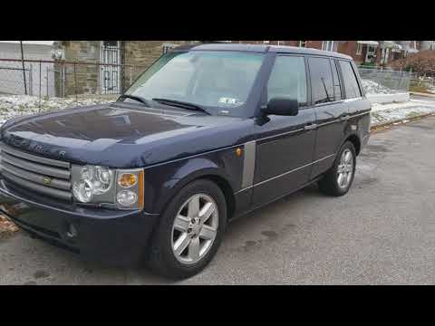 Tips for your 2003-2009 Range Rover