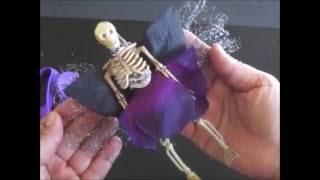 Halloween DIY: How to Make Skeleton Fairies Using Dollar Tree
